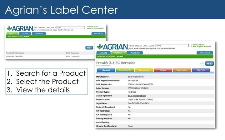 ppt - what is agrian? powerpoint presentation - id:4110259