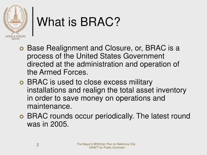 What is brac