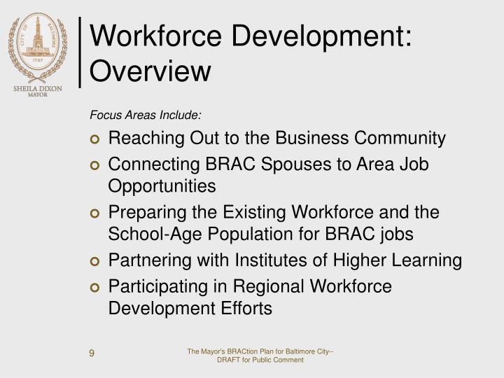 Workforce Development: Overview