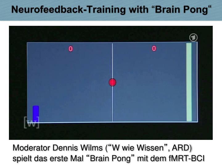 Neurofeedback-Training with