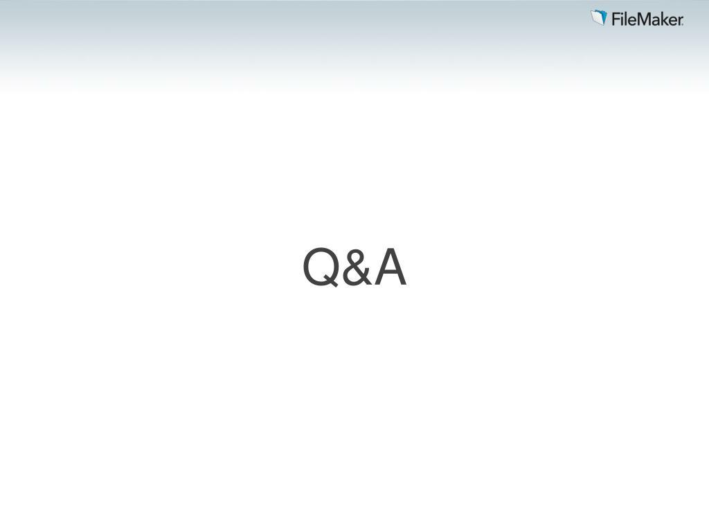 PPT - FILEMAKER SERVER 12 PowerPoint Presentation - ID:4110353