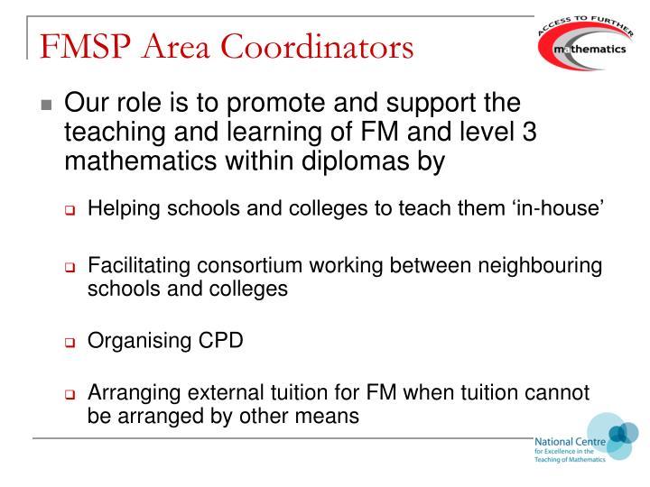 FMSP Area Coordinators
