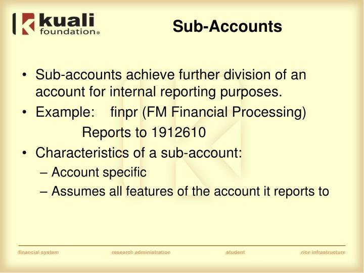 Sub-Accounts