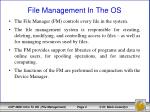 file management in the os1