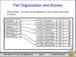 file organization and access10