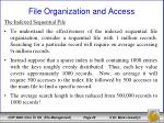 file organization and access12