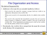 file organization and access13
