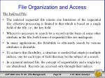 file organization and access15