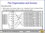 file organization and access16