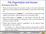 file organization and access22