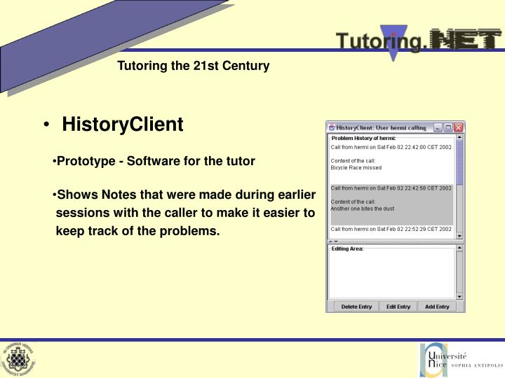 HistoryClient