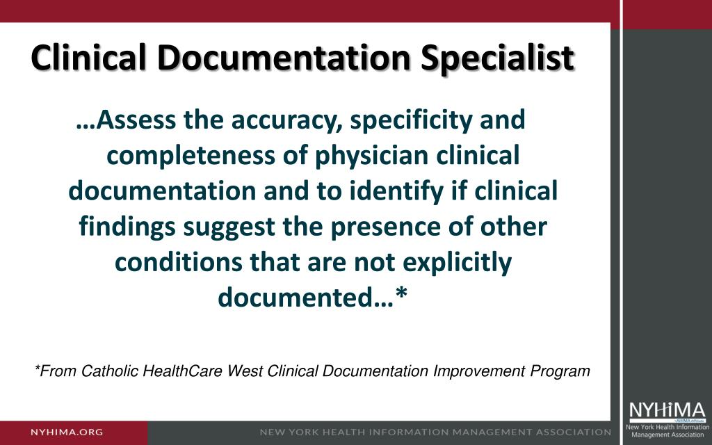 Ppt Challenges In Clinical Documentation Stories From The Front Line Powerpoint Presentation Id 4110807