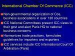 international chamber of commerce icc