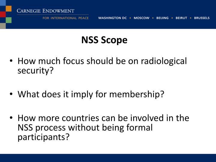 NSS Scope