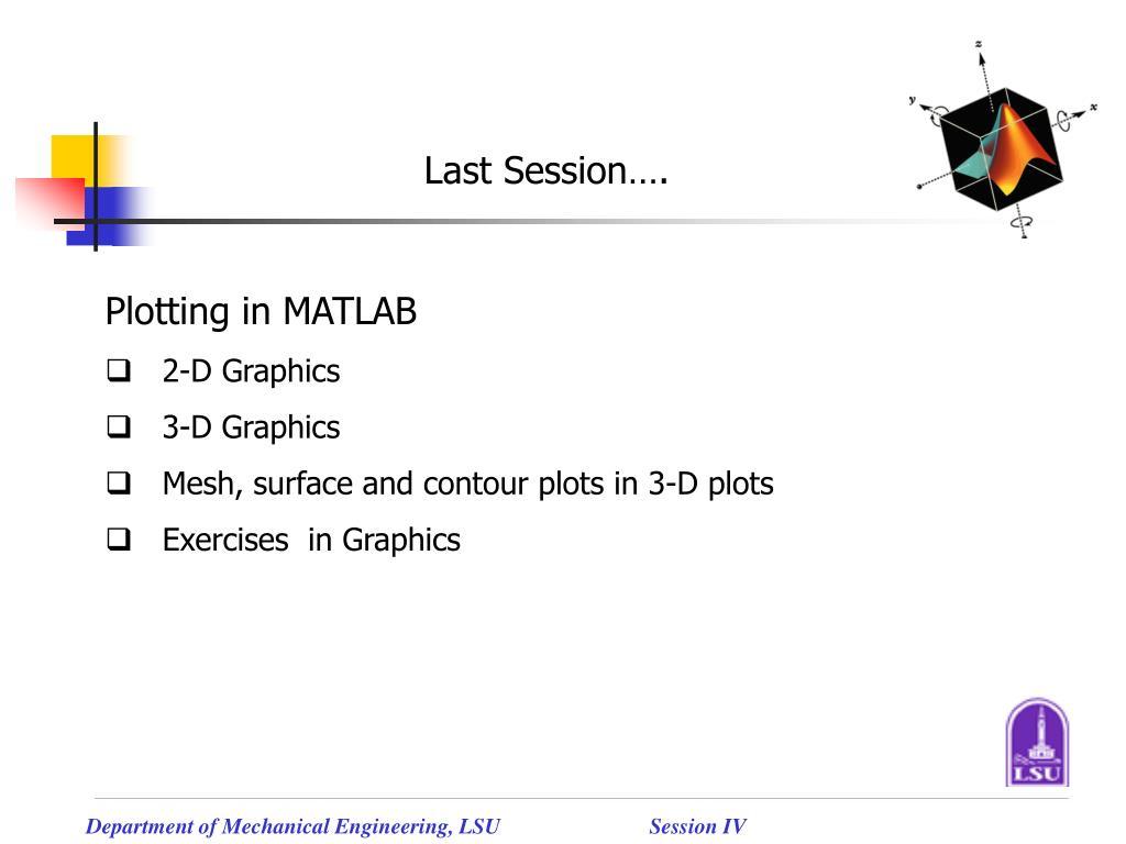 PPT - MATLAB Tutorials PowerPoint Presentation - ID:4111016