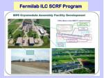 fermilab ilc scrf program1