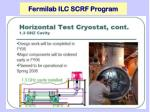 fermilab ilc scrf program2