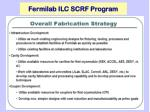 fermilab ilc scrf program3