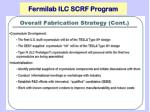 fermilab ilc scrf program4