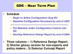 gde near term plan1