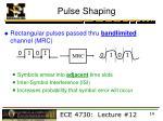 pulse shaping