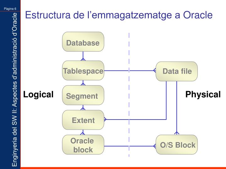 Estructura de