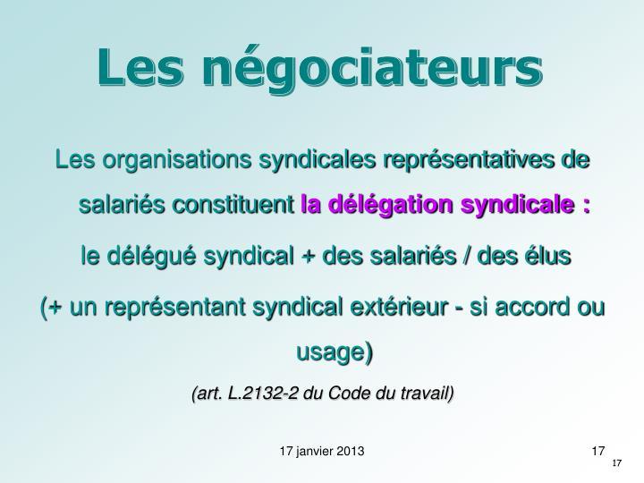 Les négociateurs