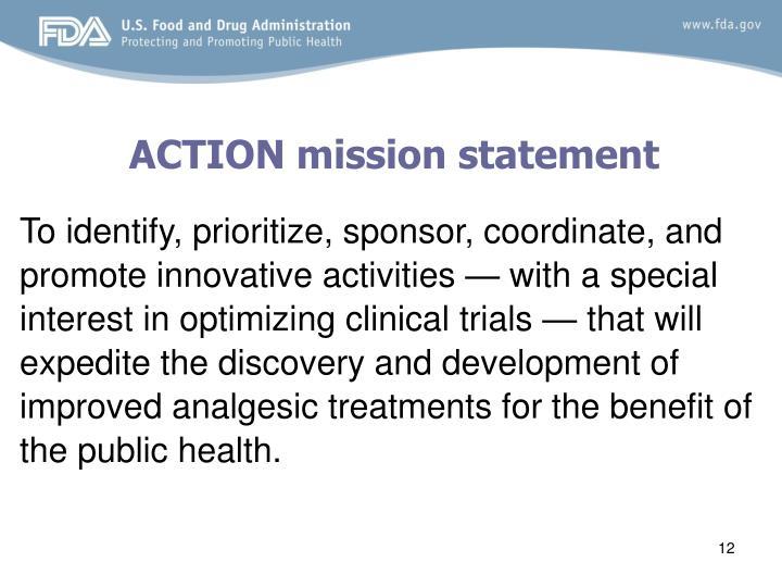 ACTION mission statement