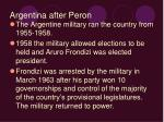 argentina after peron