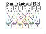 example universal fnn