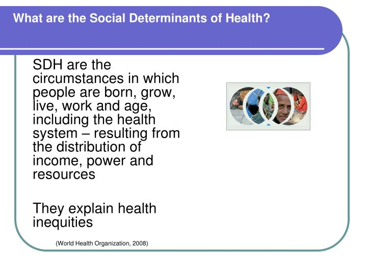 What are the Social Determinants of Health?