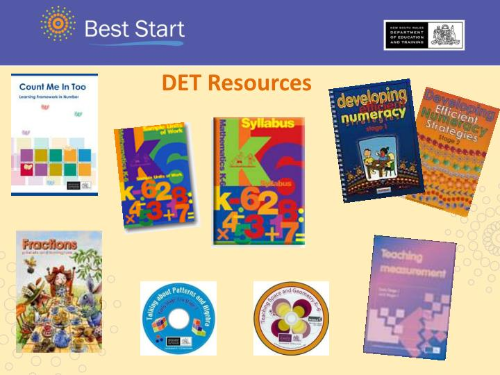 DET Resources