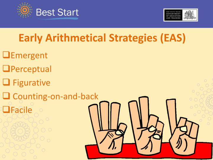 Early Arithmetical Strategies (EAS)