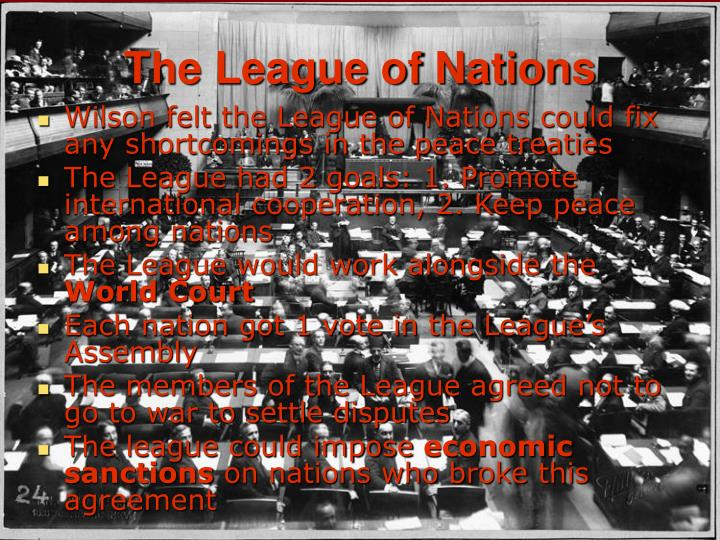 a brief history of the league of nations founded after paris peace conference Organization founded as a result of the paris peace conference that ended league of nations was founded on the league of nations for gcse history.