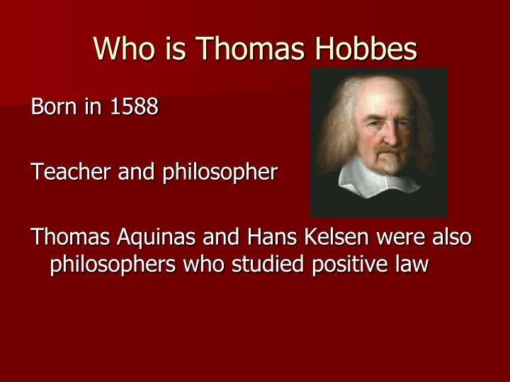 thomas hobbes autobiography