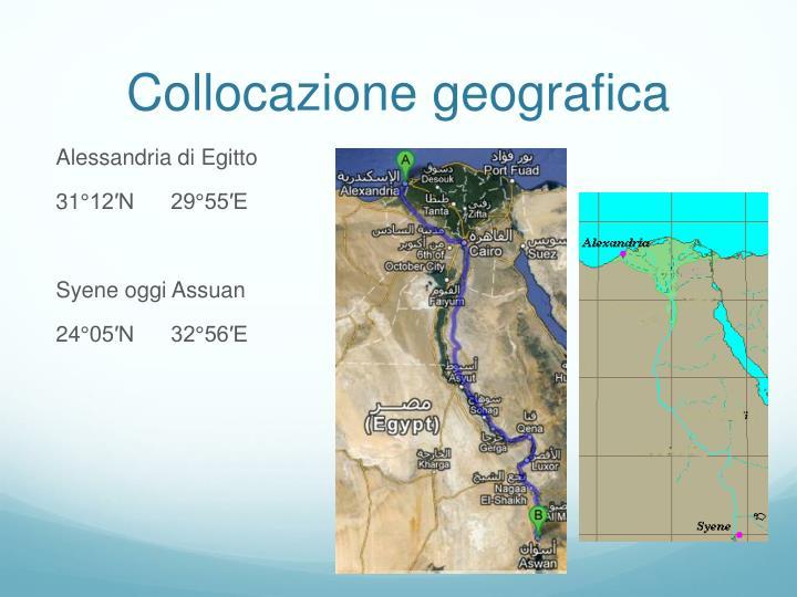 Collocazione geografica