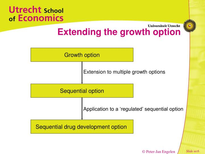 Extending the growth option