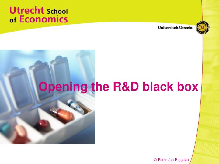 Opening the R&D black box