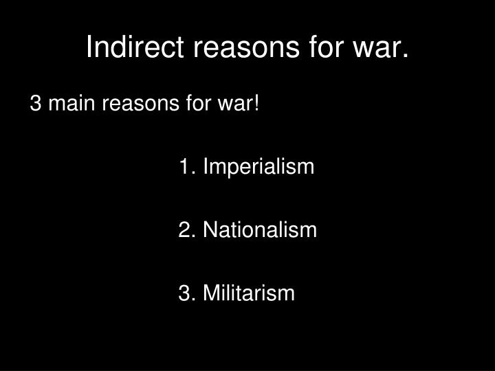 was militarism the main reason for causing ww1 essay - 720×540