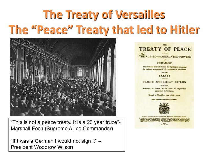 the economic and political consequences of the treaty of versailles in germany Viewing germany as the chief instigator of the conflict, the european allied powers decided to impose particularly stringent treaty obligations upon the defeated germany the treaty of versailles, presented for german leaders to sign on may 7, 1919, forced germany to concede territories to belgium (eupen-malmédy).