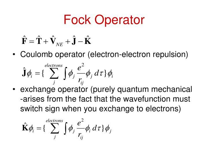 Fock Operator