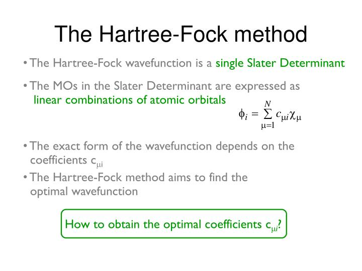 How to obtain the optimal coefficients c