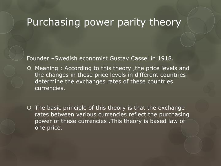 testing purchasing power parity The world bank coordinates the international comparison programme (icp), a global statistical initiative established to produce internationally comparable price levels, expenditure values, and purchasing power parity (ppp) estimates.