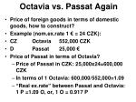 octavia vs passat again