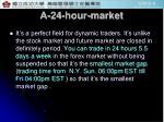 a 24 hour market