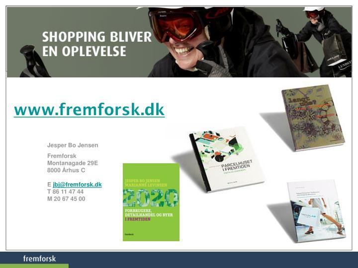 www.fremforsk.dk