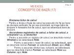 ms excel concepte de baz 17