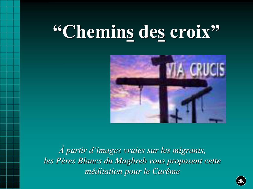 """Clic Saint Gilles Croix De Vie ppt - """"chemin s de s croix"""" powerpoint presentation, free"""