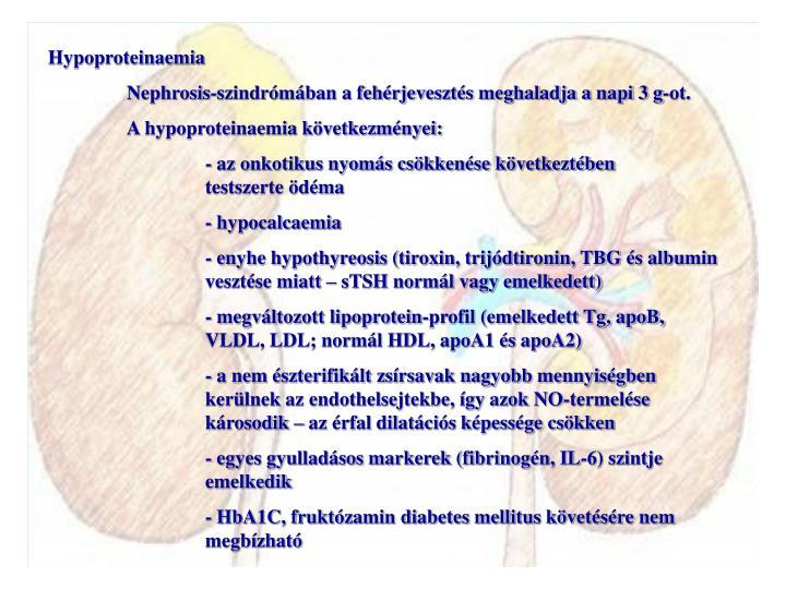 Hypoproteinaemia