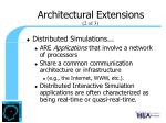 architectural extensions1